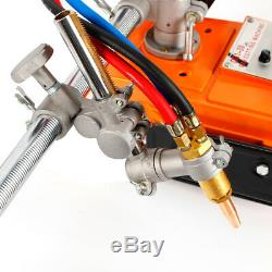 Torch Burner GAS Cutting Machine 45° Bevel Angle 8-100mm Thickness Beveling UPS