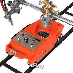Torch Track Burner CG-30 Gas Cutting Machine with Rails Portable Metallurgy 110V