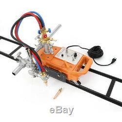 Torch Track Burner CG1-30 Gas Cutter Machine Cutting with 1.8m Rail Track 110V US