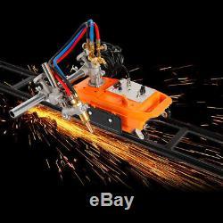 Torch Track Burner CG1-30 Gas Cutting Machine Cutter with Rail Track 50-750mm/min