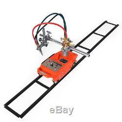 Torch Track Burner CG1-30 Gas Cutting Machine with Rails Portable Metallurgy 110V