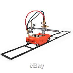 Torch Track Burner CG1-30 Gas Cutting Machine with Rails Portable Metallurgy 110V