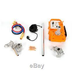 Torch Track Burner CG1-30B Gas Cutting Machine with 2 Rail Track 110V Quick Switch