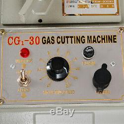 Torch Track Burner CG1-31 Gas Cutting Machine 200-2000mm Circular 2-30in/min