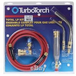TurboTorch 0386-0007 LP-2 Torch Kit Swirl MAP-Pro/LP Gas