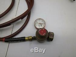 TurboTorch Acetylene Gas Regulator & Turbo Torch WithHose Welding torch