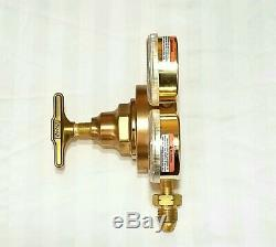 VICTOR SR461B PROPANE LP GAS REGULATOR Welding Cutting Torch Heavy Duty 07810589