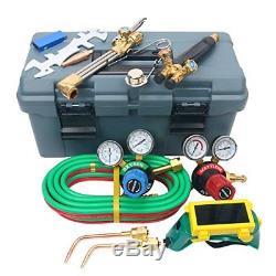 VICTOR Type Gas Welding & Cutting Kit Oxygen Oxy Acetylene Torch Welder Set