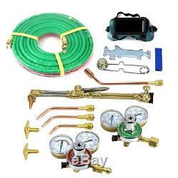 VICTOR Type Gas Welding & Cutting Kit Oxygen Torch Acetylene Welder Tool Set