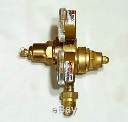 VICTOR VTS250A-580 Two Stage Inert Gas Regulator Gauges Welding Torch