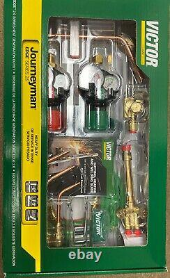 Victor 0384-2101 Journeyman 540/510 Edge 2.0 Gas Welding & Cutting Torch Outfit