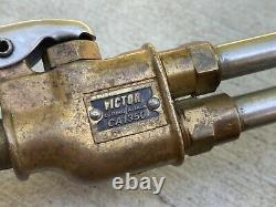 Victor 100, CA1350, J100C Oxy Acetylene Gas Torch Set + 6 Cutting / Welding Tips