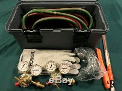 Victor Cutmaster Oxy-acetylene Torch Kit and Gas Welding