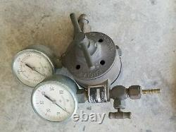 Victor J100C Oxygen Acetylene Welding Torch Set & Gas Regulators Hose