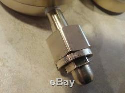Victor Journeyman CSR 450 oxygen CSR 460 acetylene gas regulators cutting torch
