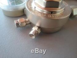 Victor Journeyman SR 450 oxygen / acetylene gas regulators for cutting torch