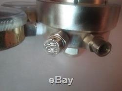 Victor Journeyman SR400D oxygen / SR410A acetylene gas regulators cutting torch