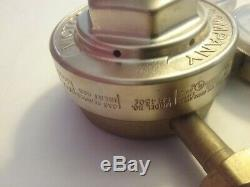 Victor SR 450 E cga 580 high flow regulator 0-200 psi inert gas gauges torch