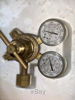 Victor SUPER-RANGE Gas Cutter Welding Torch Kit Set Outfit 0384-0043-DLX-550