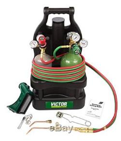 Victor Technologies 0384-0946 G150-J-Pt Tote with Tanks Gas Welding Torches CNC
