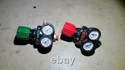 Victor Torch 15-510 / 125-540 Gas Regulator Welding Cutting Torch Free Same Day