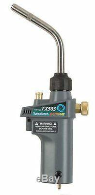 Victor TurboTorch 0386-1297 TX503 Torch Swirl, MAP-Pro/LP Gas, Self Lighting, Ne