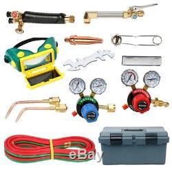 Victor Type 250 System Gas Welding Cutting Kit Acetylene Oxygen Torch Regulator