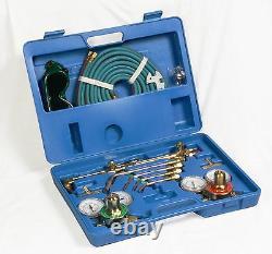 Victor Type Gas Welding Cutting Kit Oxygen Torch Acetylene Welder Tool Case