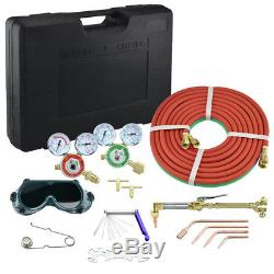Victor Type Gas Welding and Cutting Kit Oxygen Oxy Acetylene Torch Welder Tools