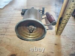 Vintage Antique Brass Welding Gas Blow Torch