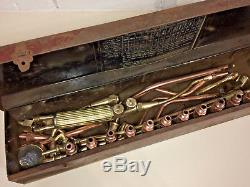 Vintage BOC high pressure brass gas welding torch Model CH no. 8/4714 Superb
