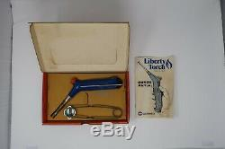 Vintage Microflame Gas Welding Torch + Liberty Torch with Box and Extra parts