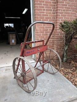 Vintage Welding Torch Gas Cart