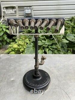 Vtg Welding torch NATIONAL Blowpipe air gas Jeweler solder Lab 8 No. 91 Rare