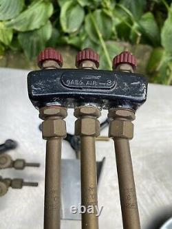 Vtg Welding torch NATIONAL Blowpipe air gas Jeweler solder Lab Lot No. 91 3
