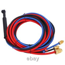WP20 High Quality Water Cooled TIG Welding Gun Torch Head Gas Valve Kit 250A