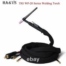 WP20 TIG Welding Torch Integrated Rubber Hose Gas Electric Water Cooled Series