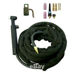 WP26 Gas Valve TIG Welding Torch Welder with Torch Head Tool Power Cable/Hose