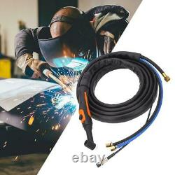 Water-Cooled TIG/WP-18 Welding Torch Flexible Gas Valve Head Kit 240A 4M Cable
