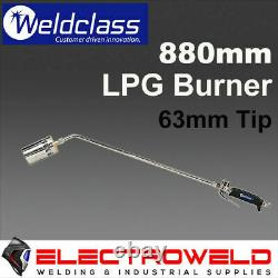 Weldclass Lpg Burner Heat Blow Torch Propane Welding Heating Bbq Gas Weed Gun