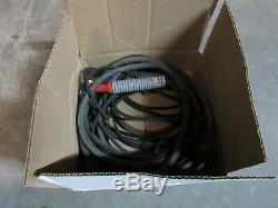 Weldcraft Cs 300 Tig Welding Torch Kit 25' 1/0 Cable & Gas Hose Linennb