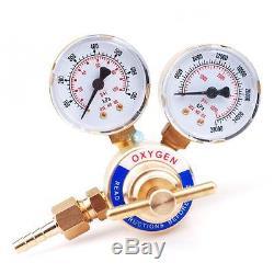 Welding Gas Oxygen Handy Regulator Victor Torch Cutting Guage 0-4000 PSI CGA 540