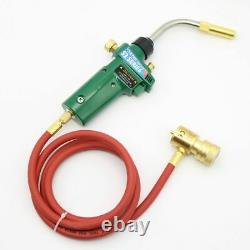 Welding Gas Turbo Torch Self Ignition Stainless Steel Solder Propane MAPP Hose