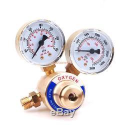 Welding Gas Welder Oxygen Regulator Pressure Gauges For Victor Torch CGA 540