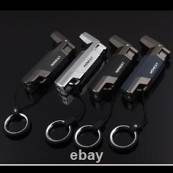 Welding Jet Gas Lighter Torch Turbo Lighter Key Ring Fire Windproof Portable Spr