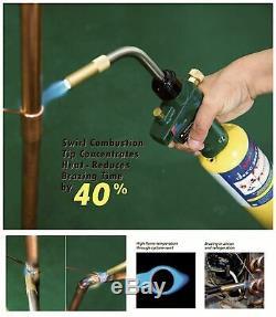 Welding Torch Propane Gas Torch Trigger Ignition Copper Aluminum Heating Solder