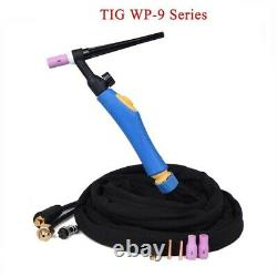 Welding Torch TIG Flexible Head Gas Tungsten Arc Valve Separated Connector 3.7M