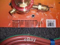 Welding Torch kit Medium Duty OxyAcetylene Gas Deluxe Victor Type Blow Torch