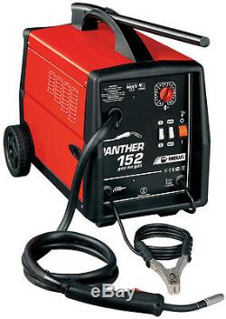 Welding Wired Continuous Gas/No Gas HELVI Panther 152+ Torch + Coil Wire