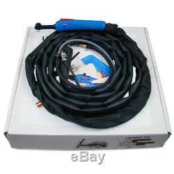 Welding torch T-9V gas-cooled torch for TIG welding with a gas valve